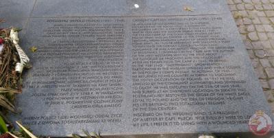 Pomnik rotmistrza Witolda Pileckiego - Wrocław