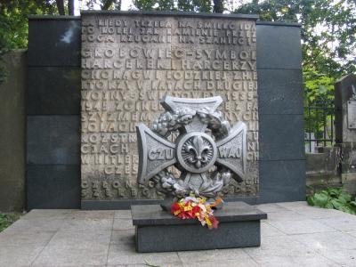 Pomnik ku czci harcerek i harcerzy poległych podczas II wojny światowej - Łódź