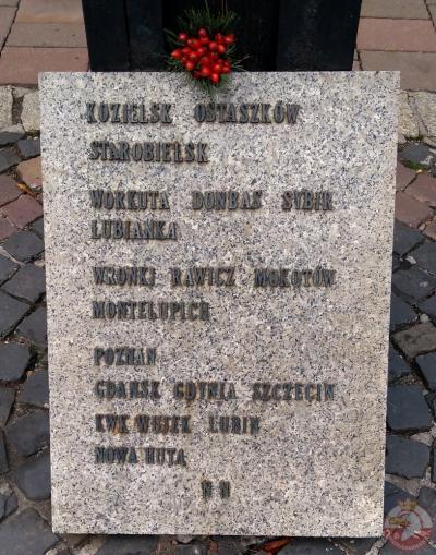 Krzyż Katyński - Kraków