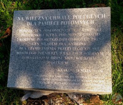 """Pomnik """"Misia Wojtka"""" - Kraków"""