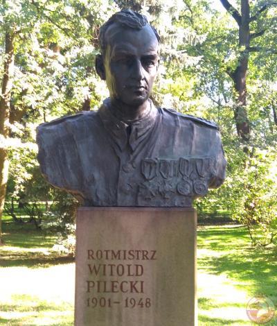 Pomnik rotmistrza Witolda Pileckiego - Kraków