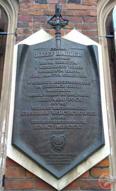 Tablica poświęcona generałowi Józefowi Hallerowi - Kraków