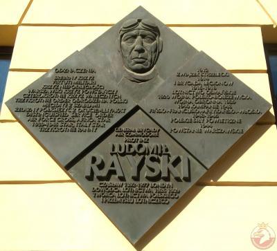 Tablica poświęcona generałowi Ludomiłowi Rayskiemu - Kraków