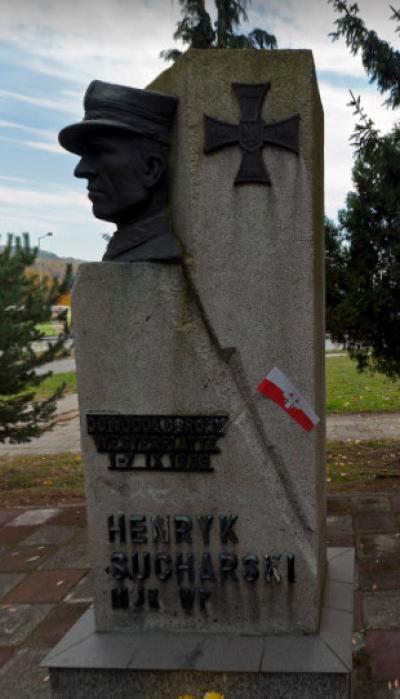 Pomnik Henryka Sucharskiego - Nowy Sącz