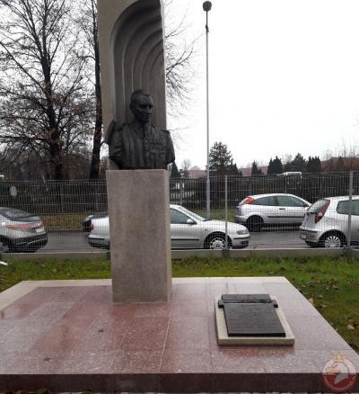Pomnik Witolda Pileckiego - Oświęcim