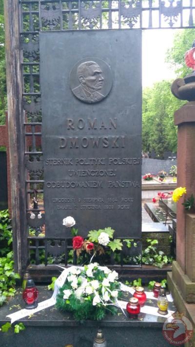 Grób Romana Dmowskiego - Warszawa