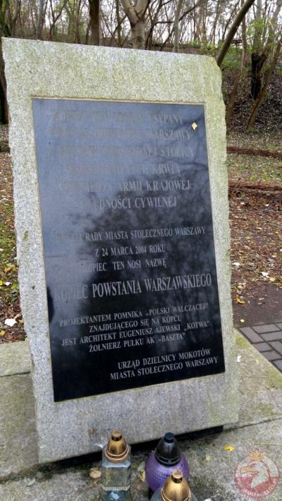 Kopiec Powstania Warszawskiego - Warszawa