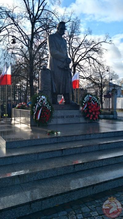 Pomnik Marszałka Józefa Piłsudskiego - Warszawa