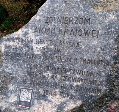 Pomnik Powstańców Warszawskich na ul. Wilanowskiej - Warszawa