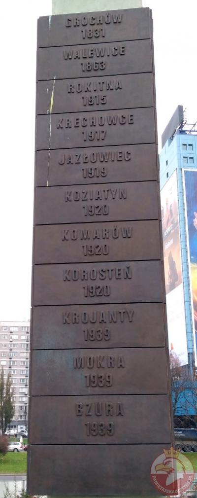 Pomnik Tysiąclecia Jazdy Polskiej - Warszawa
