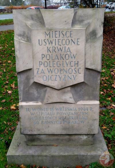 Tablica pamiątkowa przy ulicy Solec - Warszawa