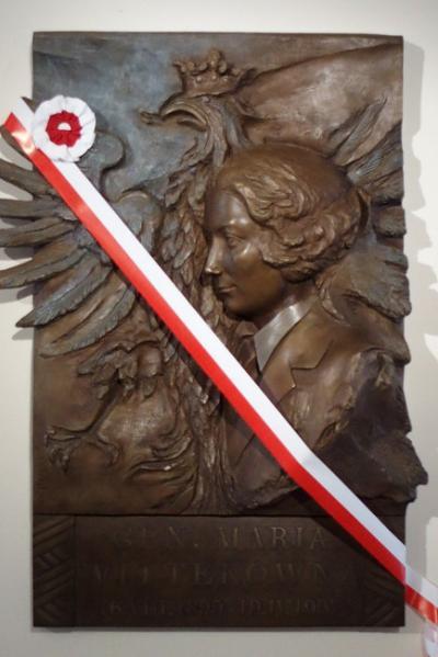 "Tablica pamięci gen. bryg. Marii Wittek ps. ""Mira"" - Warszawa"