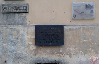 Właz do kanału przy placu Krasińskich - Warszawa