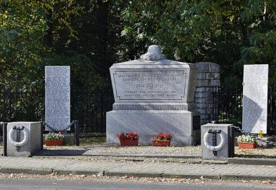 Pomnik upamiętniający poległych podczas I i II wojny światowej - Kujawy