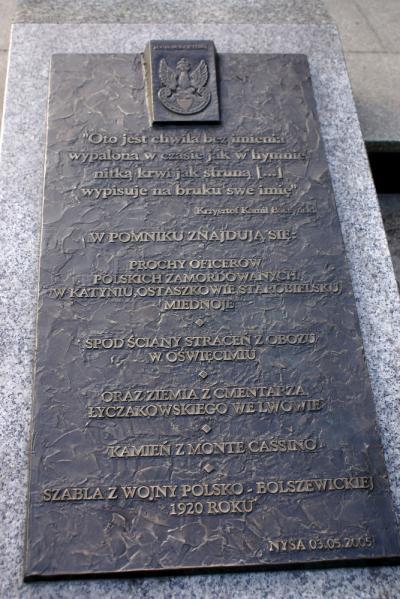Pomnik Patriotom Polskim - Nysa