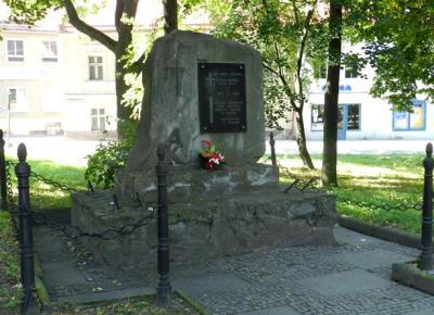 Pomnik poległych żołnierzy Armii Krajowej - Paczków