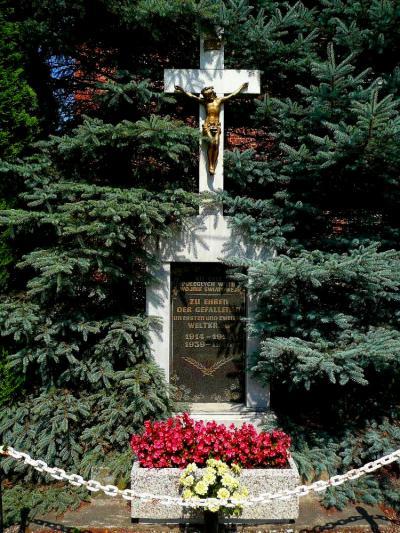 Pomnik upamiętniający poległych podczas I i II wojny światowej - Ścigów