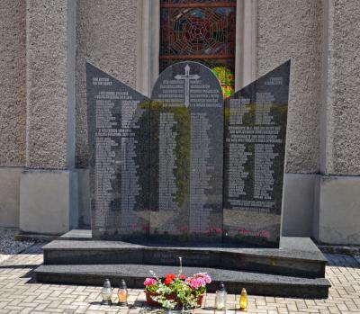 Pomnik poległych w I i II wojnie światowej - Żędowice