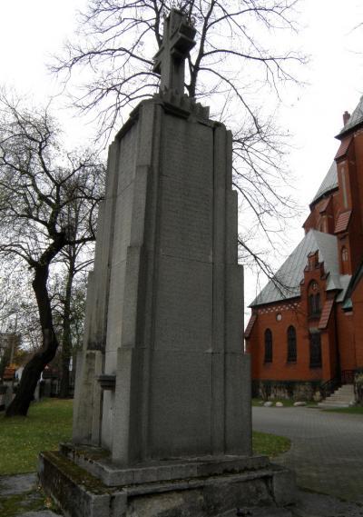 Pomnik upamiętniający ofiary I wojny światowej - Gliwice