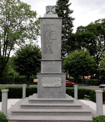 Pomnik poświęcony ofiarom Faszyzmu - Jaworze