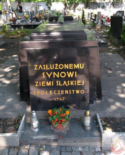 Grób Wojciecha Korfantego - Katowice