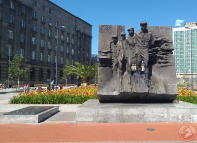 Pomnik Powstańców Śląskich i harcerzy - Katowice