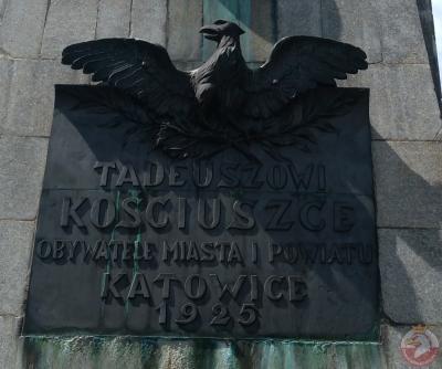 Pomnik Tadeusza Kościuszki - Katowice