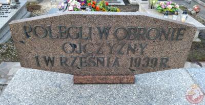 Grób czterech Żołnierzy Wojska Polskiego - Knurów