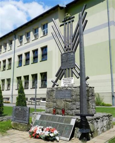 Pomnik mieszkańców Pietrzykowic poległych w II wojnie światowej - Pietrzykowice
