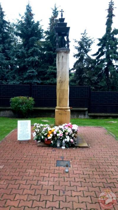 Kapliczka upamiętniająca potyczkę Powstańców Styczniowych - Sosnowiec