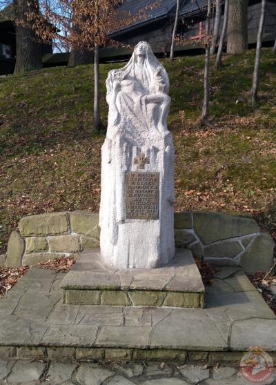 Pieta w hołdzie żołnierzom NSZ - Szczyrk