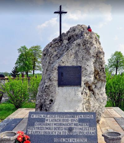 Pomnik pamięci pomordowanych w II wojnie światowej - Żarki