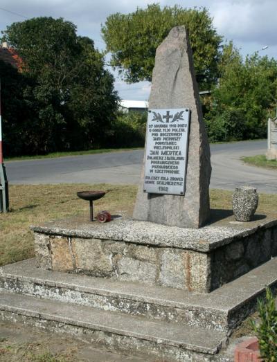 Pomnik upamiętniający Jana Mertkę - Boczków